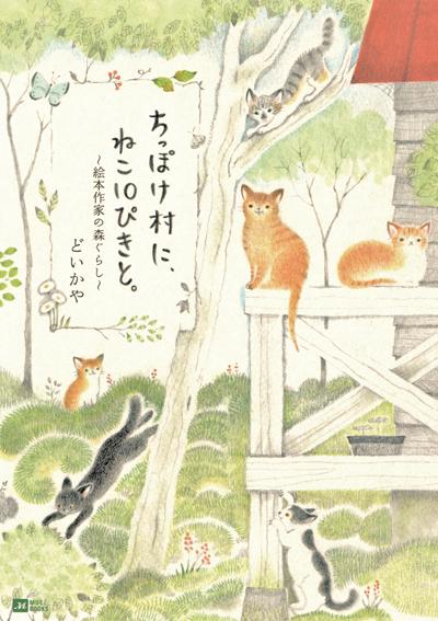 ちっぽけ村に、ねこ10ぴきと。 絵本作家の森ぐらし